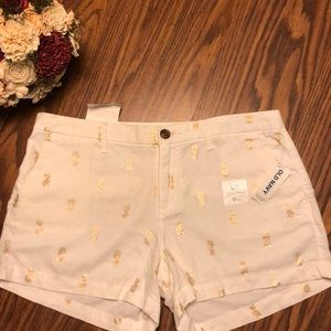 🍍Pineapple shorts   Old Navy 🍍